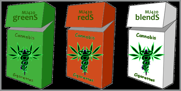 MJ420 Cannabis Cigarettes